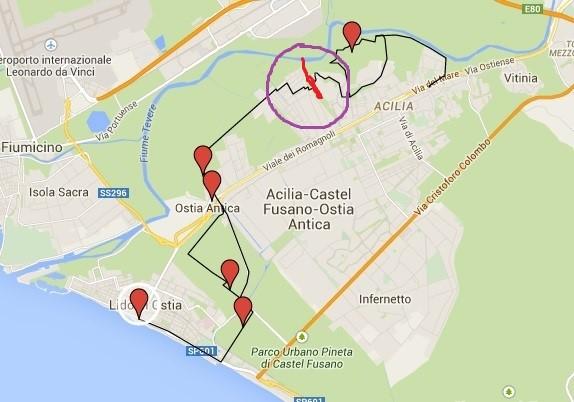itinerario bici